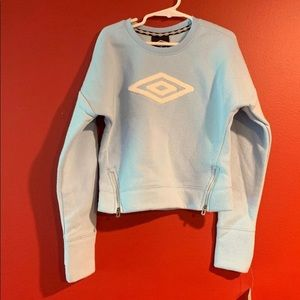 Umbro Girls Sweatshirt Size S 6/6x New
